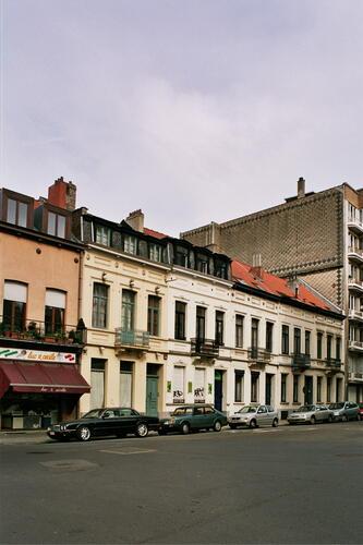 Rue de Tenbosch 35 à 27, 2005