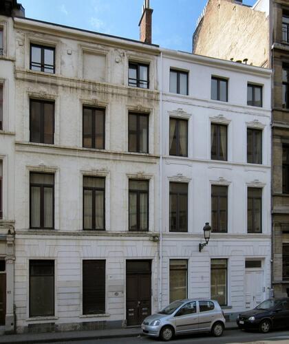 Rue du Trône 53 et 55, 2010