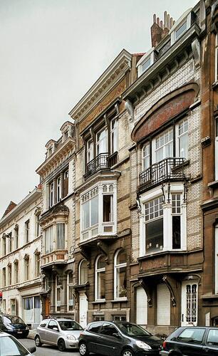 Rue Van Elewyck 41, 43, 45