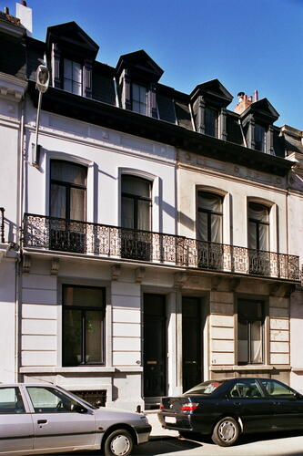Rue Van Eyck 47 et 45, 2005