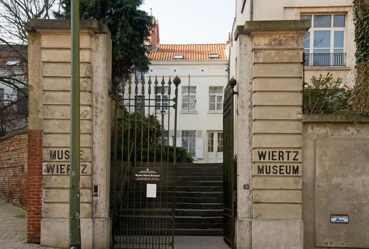 Maison personnelle et atelier du peintre Antoine Wiertz