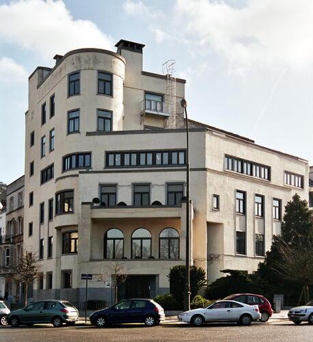 Ancienne habitation personnelle d'Adrien Blomme, actuel rectorat de l'Université libre de Bruxelles