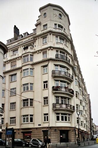Avenue Louise 94-94a-94b, rue de la Concorde 74 et rue de la Longue Haie 2, 2005