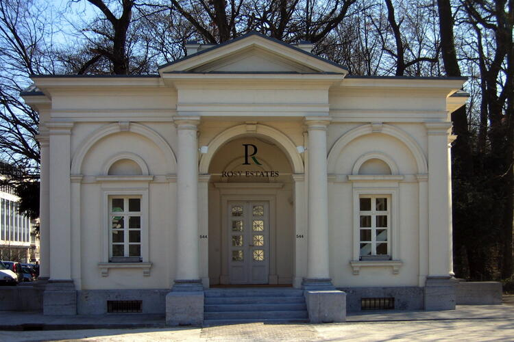 Anciens pavillons d'octroi de la porte de Namur