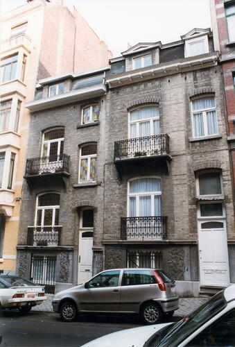 Rue Alfred Cluysenaer 59 en 57, 1998