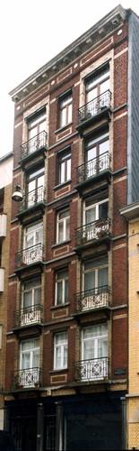 Rue Antoine Bréart 148-148a, 2003