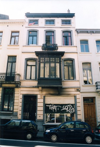 Rue Berckmans 40, 2003