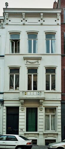 Rue Berckmans 70, 2004