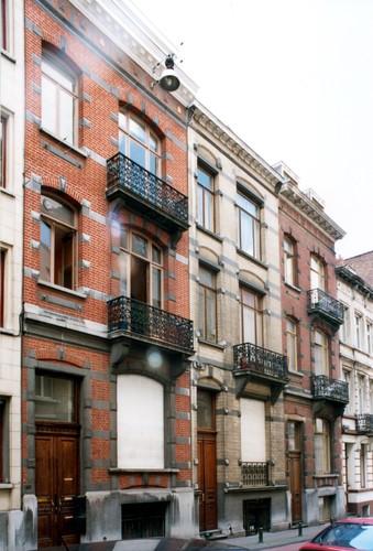 Bosquetstraat 50, 52 en 54, 2004