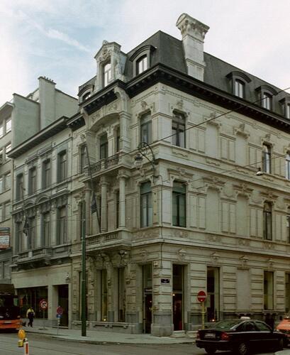 Chaussée de Charleroi 25, 23 et rue Bosquet 2a, 2003