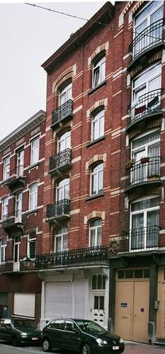 Rue Egide Walschaerts 45-47, 2004