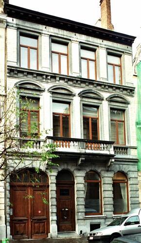 Rue Henri Wafelaerts 27-29, 2004