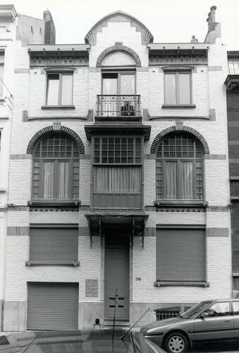 Rue d'Irlande 70 (Sint-Lukasarchief Brussel, s.d.)