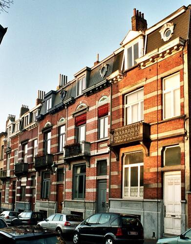 Rue d'Irlande 86, 88, 90, 92 et 94, 2004