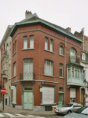 Rue Maurice Wilmotte 26 et rue d'Espagne 53-55, 2004