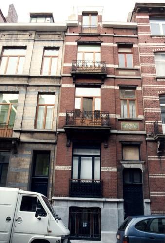 Rue Maurice Wilmotte 70, 1999