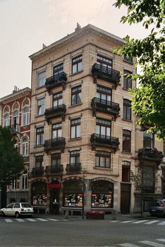Savoiestraat 68 en Arthur Diderichstraat 2, 2004