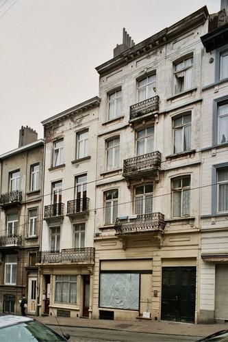 Rue Théodore Verhaegen 89 et 87, 2004