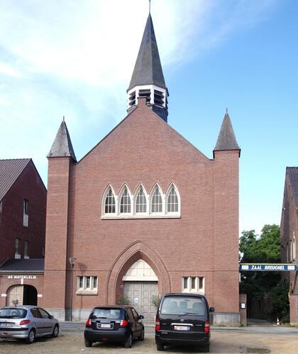 Rue de la Floraison, église Saint-Gérard Majella, 2018