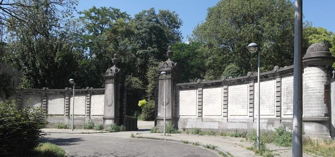 Entrée de l'ancien cimetière, actuellement Parc Forestier