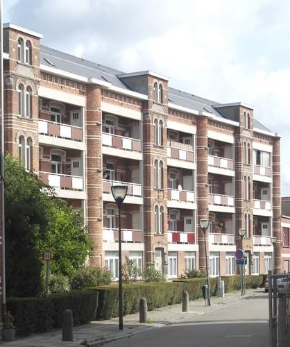 Ensemble de huit immeubles de logements sociaux