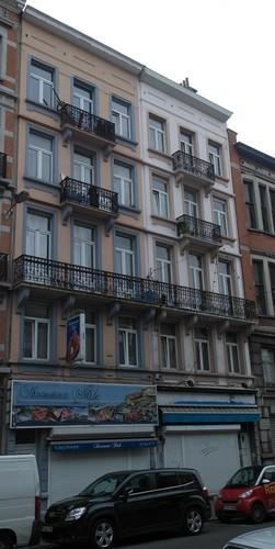 Rue du Comte de Flandre 57, 59, 2015