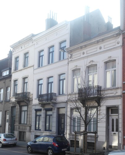 Rue Houzeau de Lehaie 6, 8 et 10, 2015