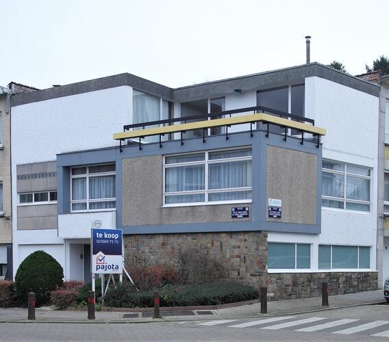 Maison personnelle de l'architecte Louis Hoebeke
