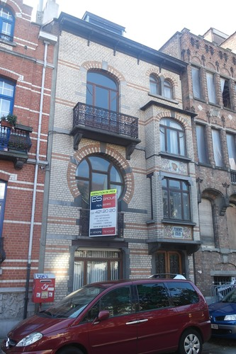 Maison bourgeoise de style Art nouveau