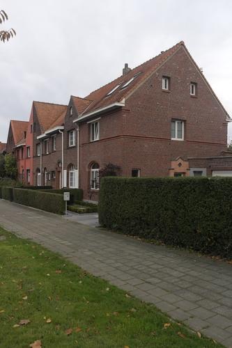 Cité jardin Heideken. Square du Centenaire 21 à 28, 2014