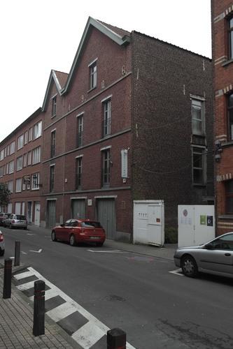 Rue Gustave Van Huynegem 30-32, pignon, 2015