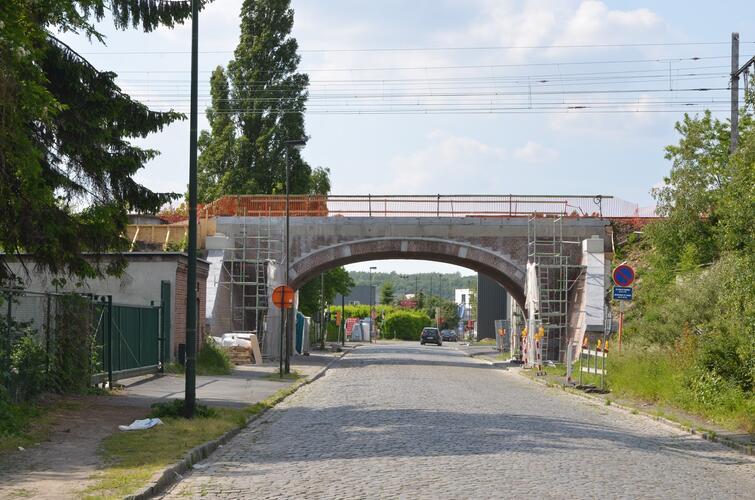 Rue du Dobbelenberg, pont du chemin de fer