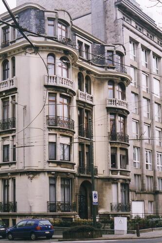 Avenue de Tervueren 192 et rue Georges et Jacques Martin 1-3-5, façade principale vers l'avenue, 2002