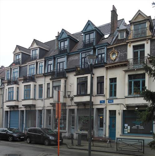 Rue de la Vénerie 54-56-58, 60-62-64 et rue Middelbourg 38, 2021
