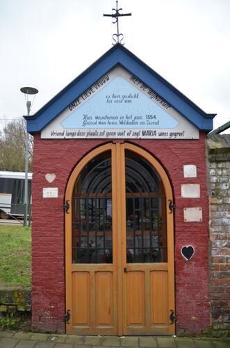 Alsembergsesteenweg 1398, kapel Onze-lieve-Vrouw-met-de-Wijndruif