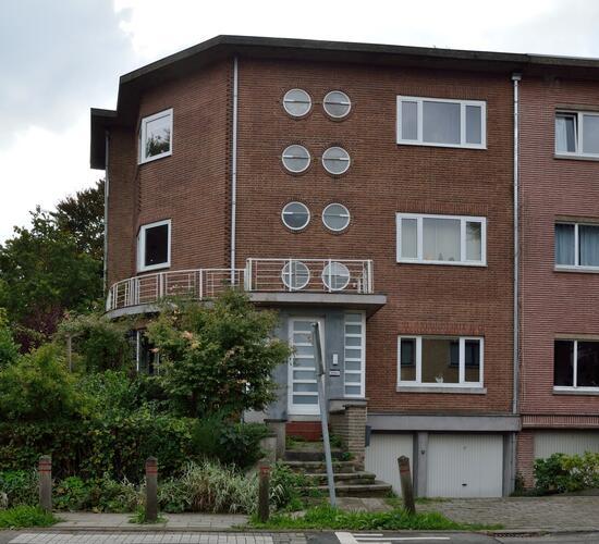 immeuble avec bureau d'architecture de Pierre Rubbers