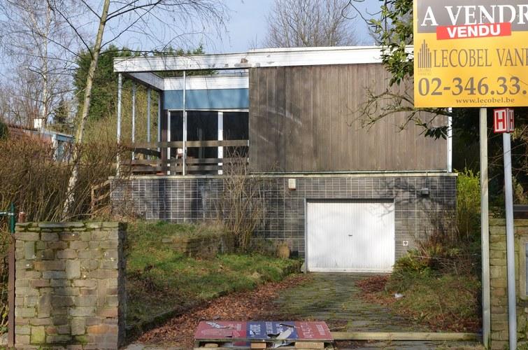 Maison personnelle de l'architecte Robert Puttemans