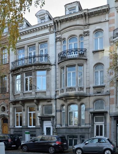 Rue Berkendael 151, 153, 2016