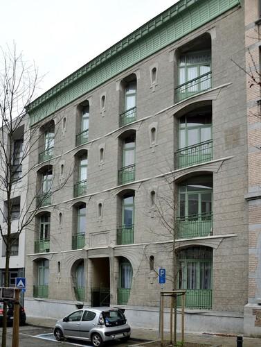 Immeuble de logements sociaux