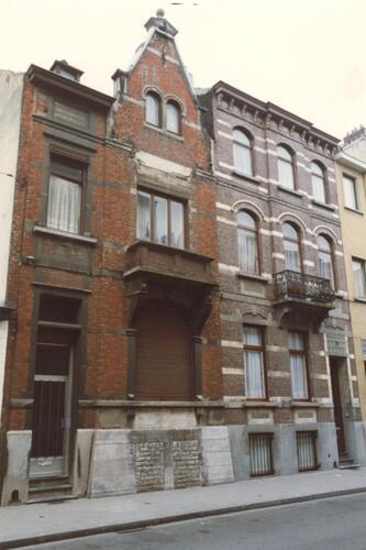 Rue Braemt 103 et 105 (photo 1993-1995)