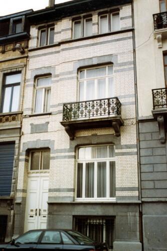 Rue Braemt 118 (photo 1993-1995)