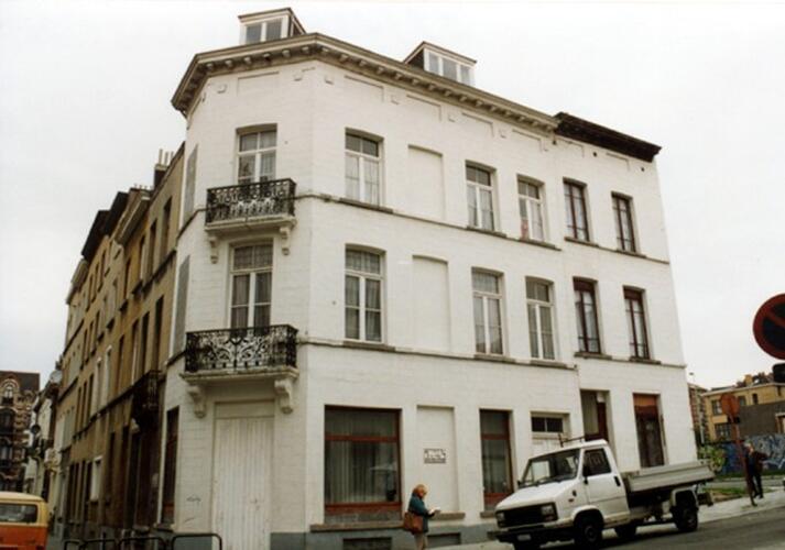 Rue de la Cible 1 et 3 (photo 1993-1995)