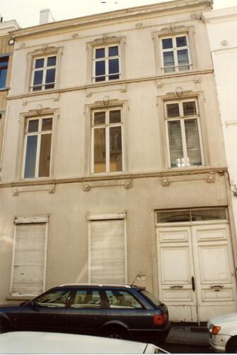 Rue Cornet de Grez 10 (photo 1993-1995)