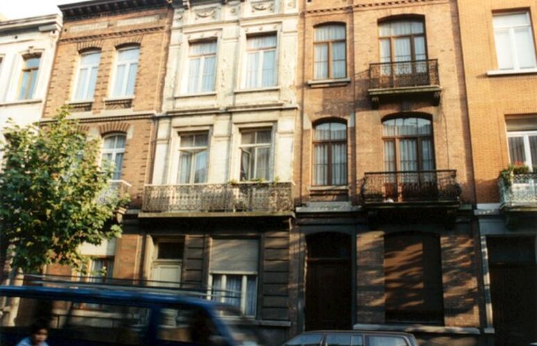 Rue des Coteaux 14, 16 et 18 (photo 1993-1995)