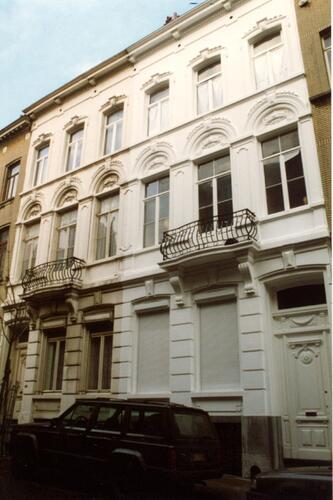 Rue de Bériot 27 et 29 (photo 1993-1995)