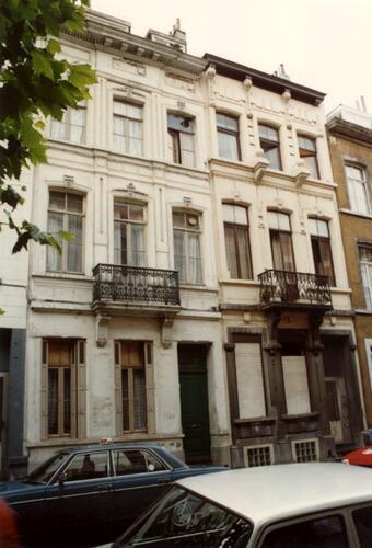 Rue de Liedekerke 87 et 89 (photo 1993-1995)
