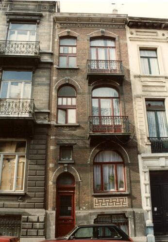 Rue de Liedekerke 107 (photo 1993-1995)