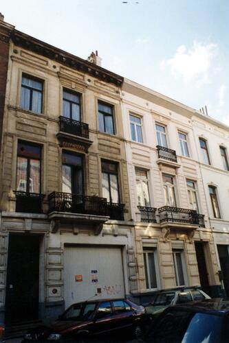 Rue de Liedekerke 109 et 111 (photo 1993-1995)