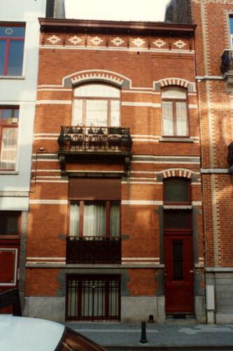 Rue Eeckelaers 25 (photo 1993-1995)