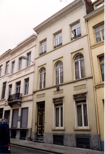 Rue Hydraulique, à gauche le no 37, à droite le no 41, 1993